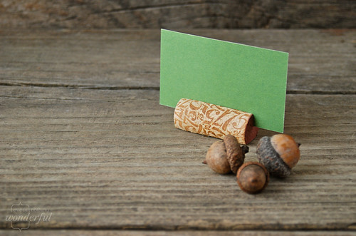 Cork Reuse Placecards | by {every}nothing wonderful