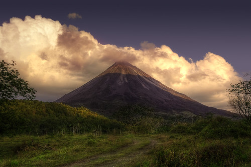 Arenal Sunset | by merlune
