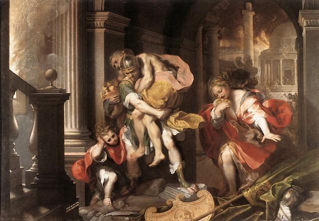 +1598 Salida de Eneas de Troya