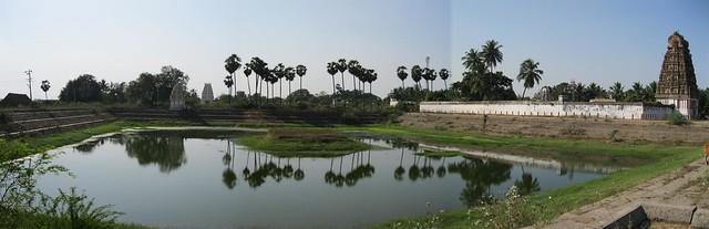 Perumal Temple, Tank and Shiva Temple