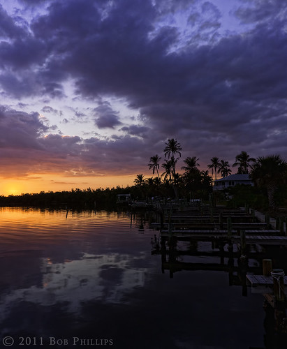 sunset docks pineisland bokeelia