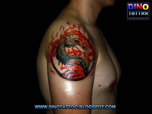 Tattoo Tatuaje Tatuagem Mortal Kombat Dino Tatuajes Flickr