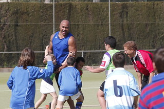 Jonah playing with the kids | by Global Sports Forum