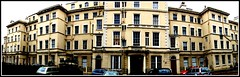 Liverpool - Princes Park Mansions North Front - Panoramic View