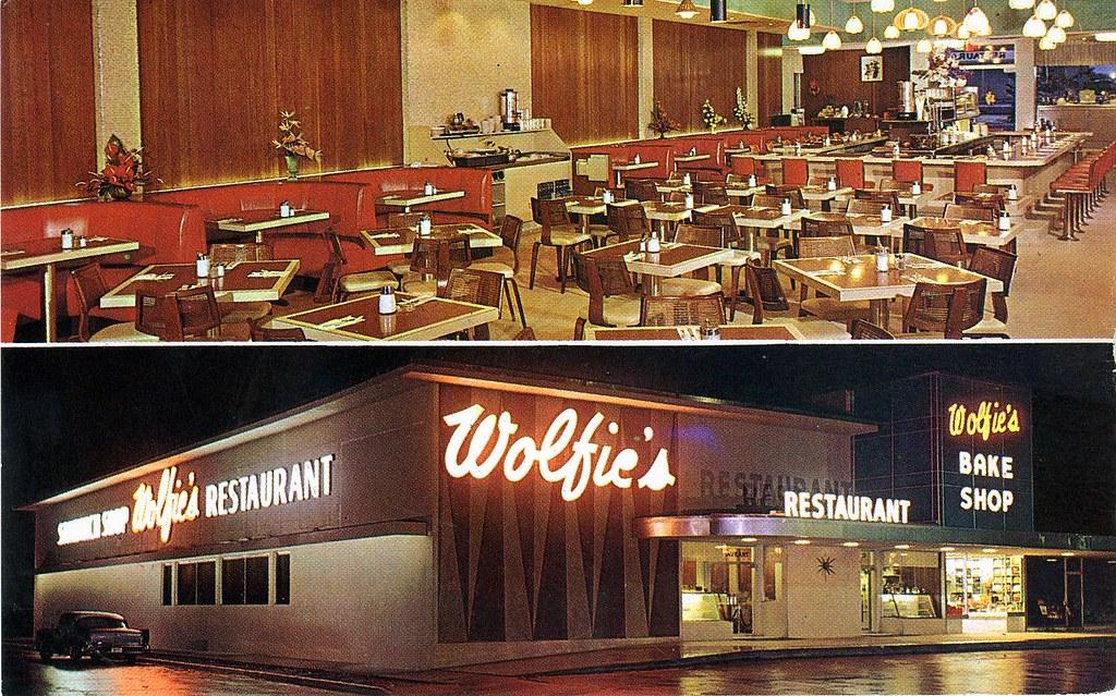 Wolfie S Restaurant Ft Lauderdale Fl 2501 East Sunrise Blv