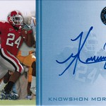 2009 Press Pass Autographs Blue Knowshon Moreno /50