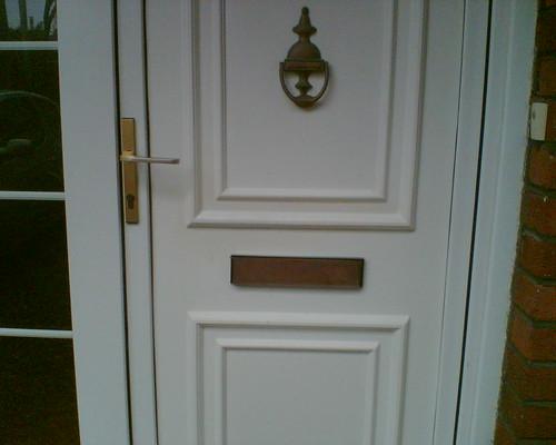 Repaired UPVC Door