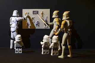 A history lession for the mini Clones and the Mini-Stormtrooper | by Kalexanderson