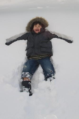 27/365 - snow angel | by Basil Kolani