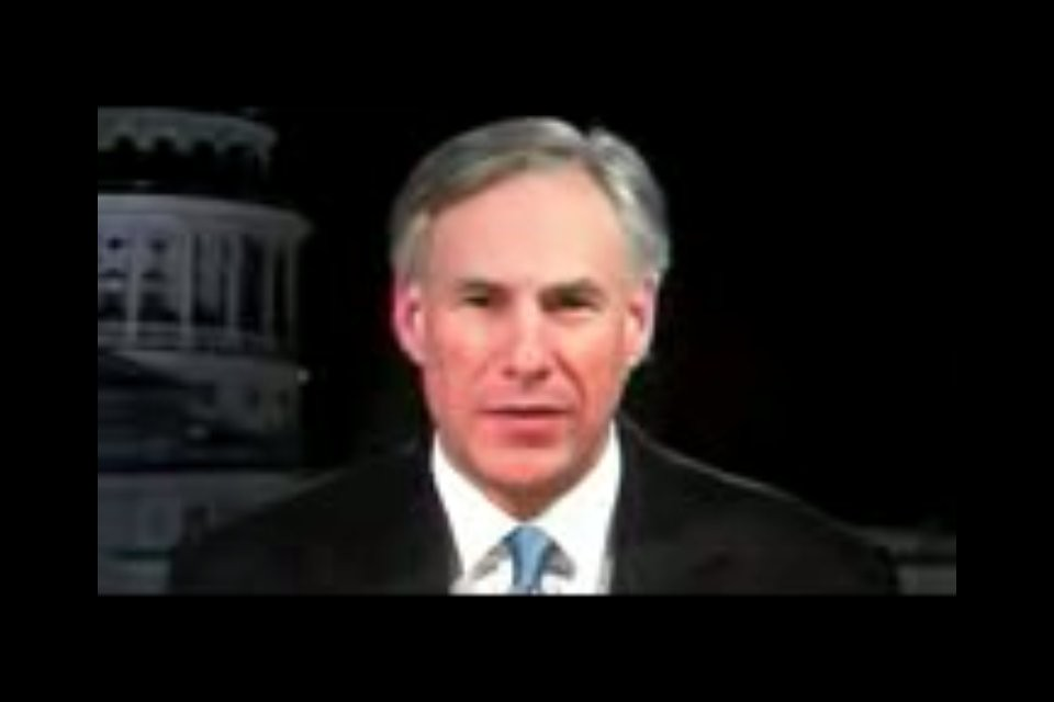 Texas Governor Greg Abbott, From CreativeCommonsPhoto