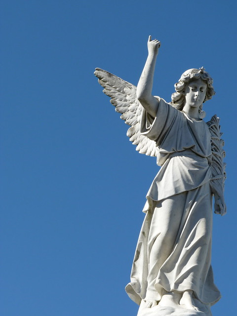 Angel ~ Saint Louis Cemetery No. 3, New Orleans, Louisiana