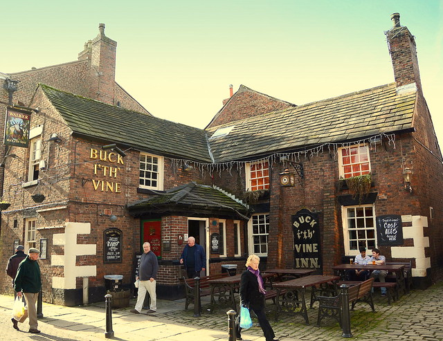 Buck I' Th' Vine Pub Ormskirk Lancashire