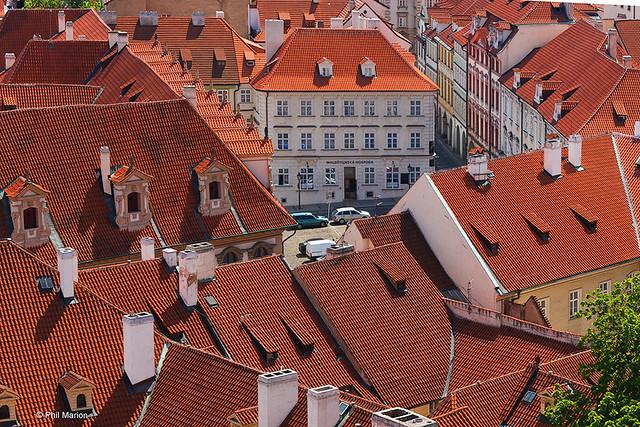 rooftops - Prague