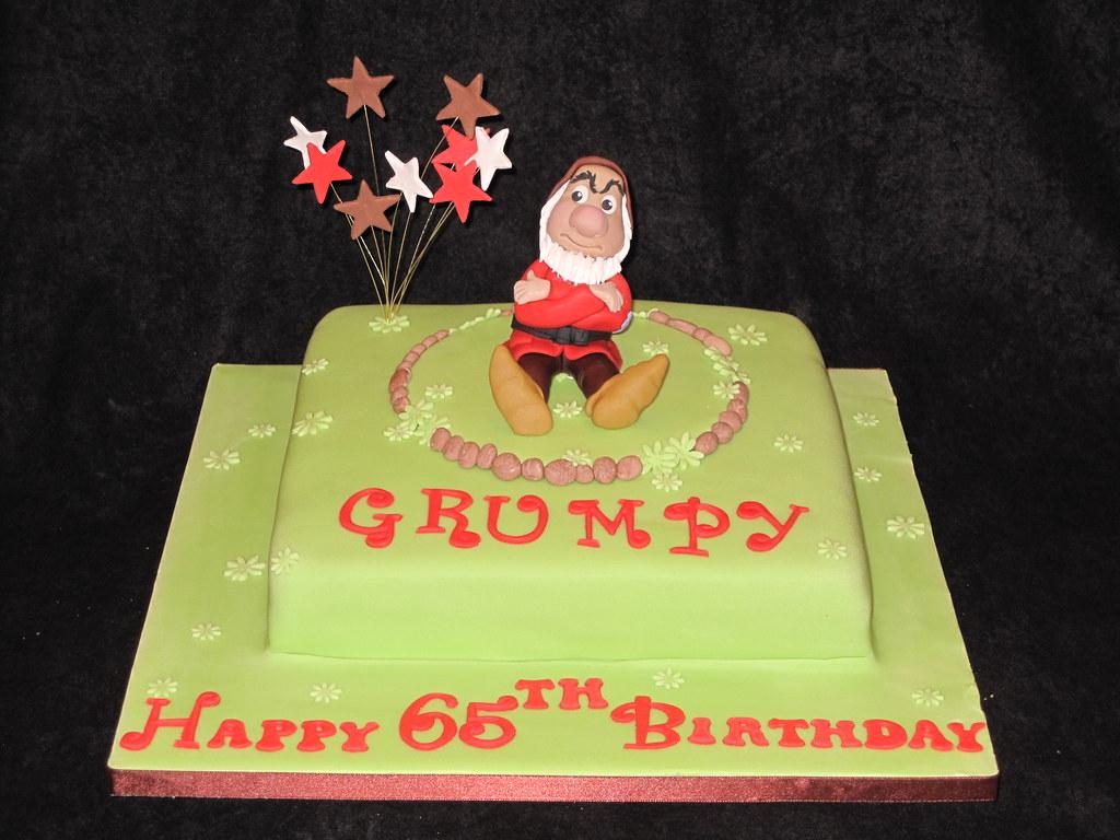 Outstanding Grumpy Old Man Cake Heidi Flickr Personalised Birthday Cards Veneteletsinfo