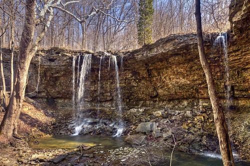 waterfall charlestonfallspreserve tippcityohio ohiofoothills
