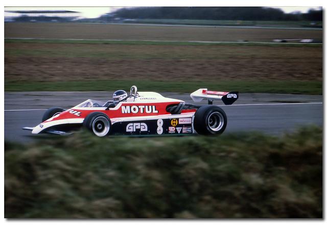 Richard Dallest. Team AGS Motul GPA. AGS JH17 BMW F2. 1981  European F2 Championship Silverstone