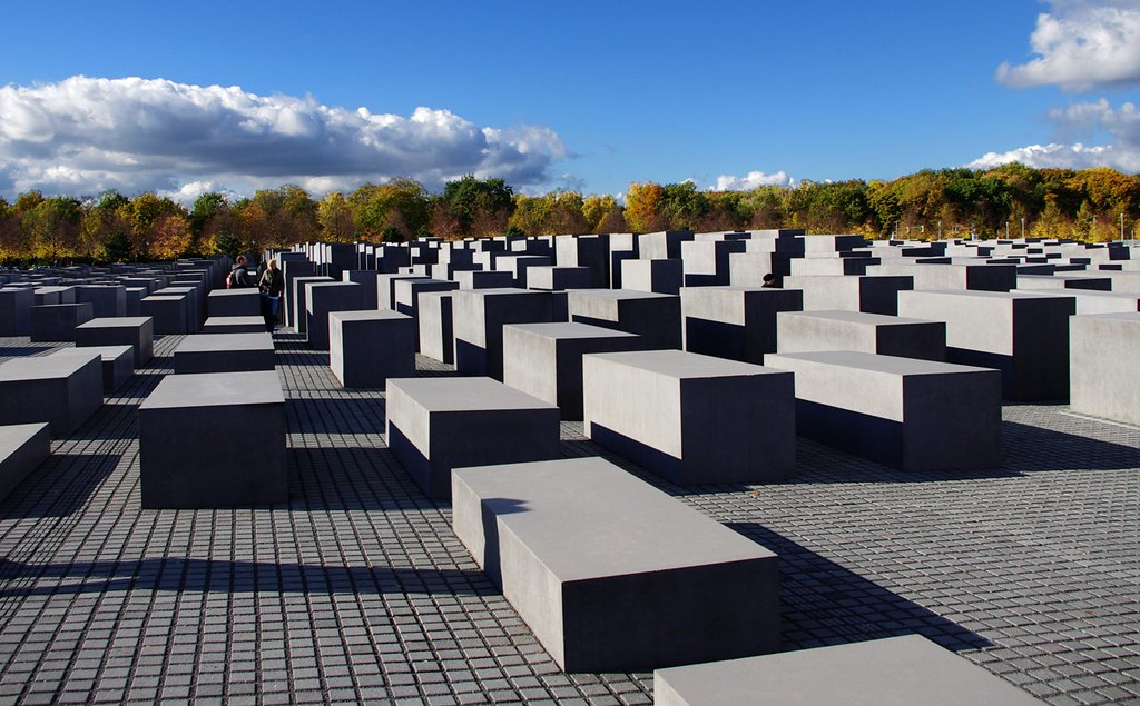 Where color is not | The Jewish WW2 holocaust monument in Be… | Flickr