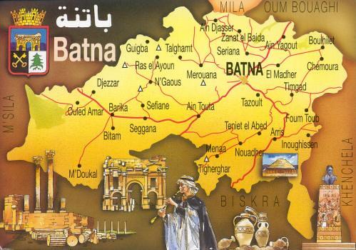 maps batna | karim aarap | Flickr