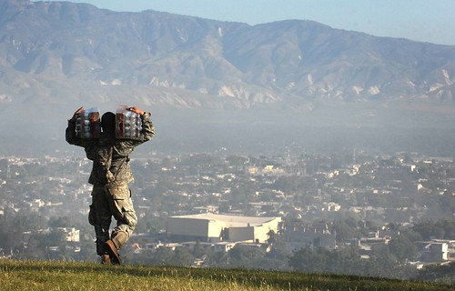 MILITARY RELIEF EFFORTS IN HAITI   by expertinfantry