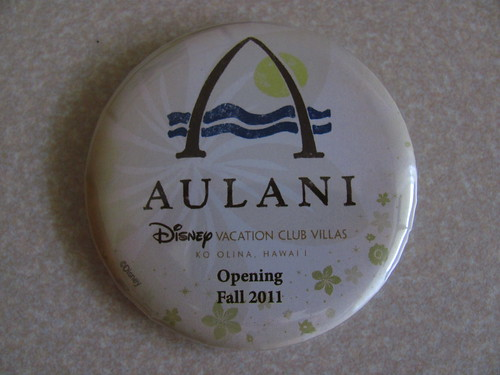 Aulani Button | by Castles, Capes & Clones