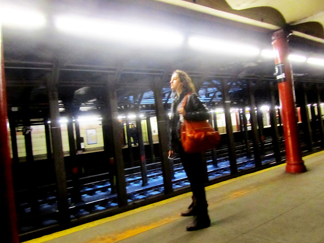 DAY 594: LOOKING FOR THE TRAIN