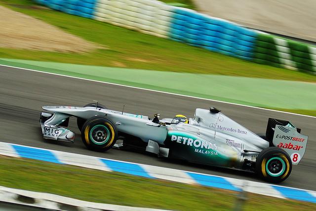 Nico_Rosberg_Mercedes | Test F1 Jerez 2011 | Jose Herrera ...
