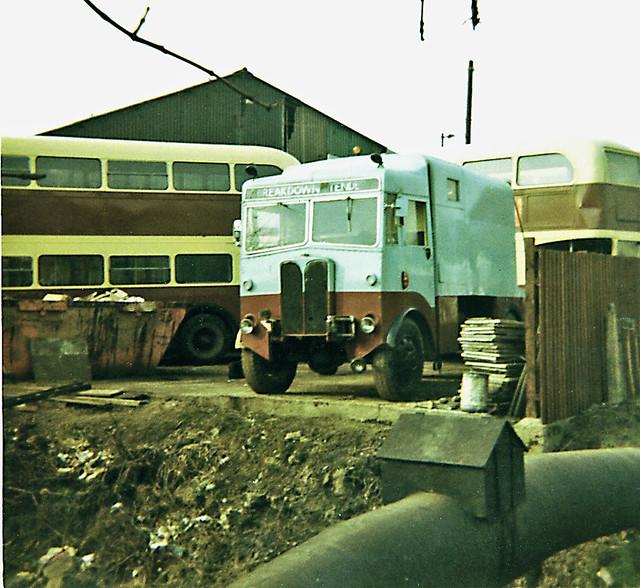 Upminster City Coach Lines ex-London Transport A.E.C. Matador  Breakdown tender