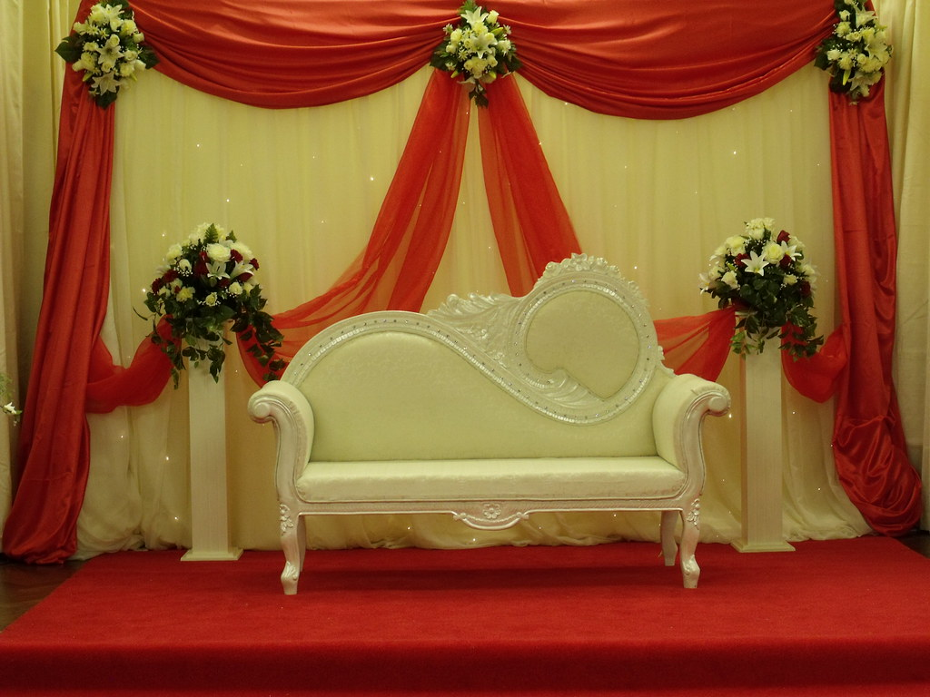 Wedding Stage Decorations Wedding Stage Decorations Flickr