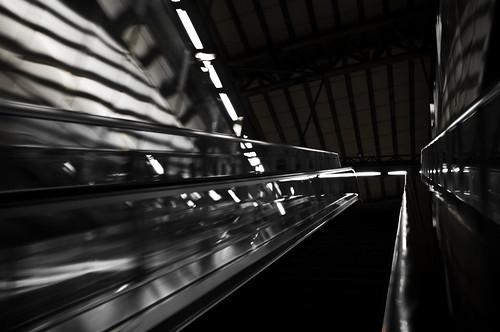 Taichung HSR Escalator