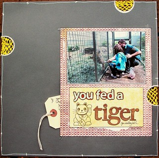 You Fed A Tiger