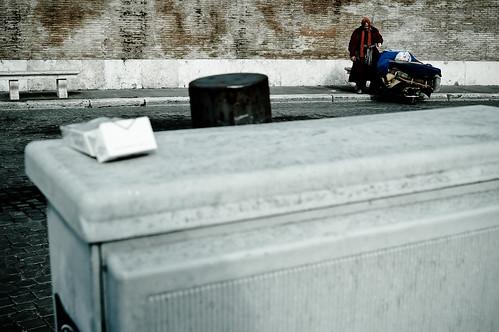 homeless in roma