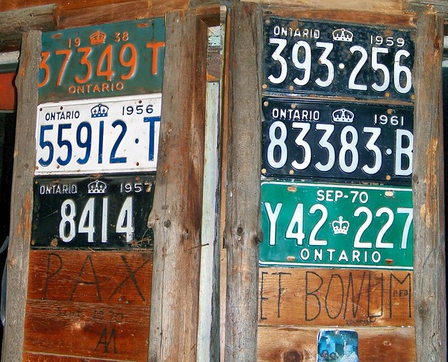 Ontario licence plates