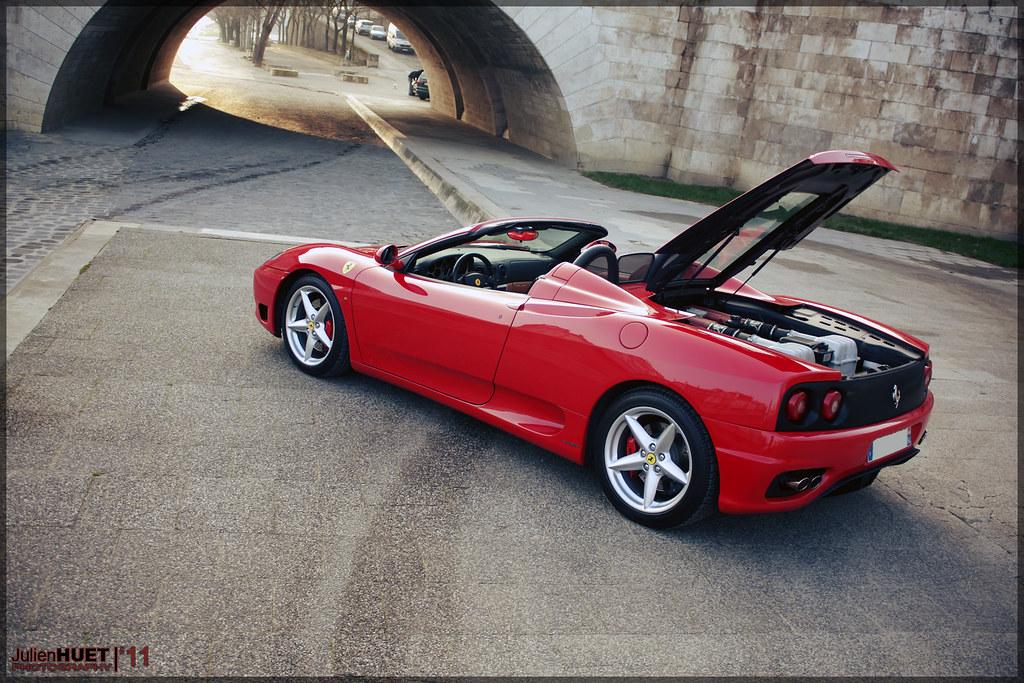 Ferrari 360 Modena Spider F1 Wrc94 Shooting Photo De La Flickr