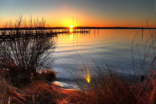 morning color water colors sunrise river maryland patuxent