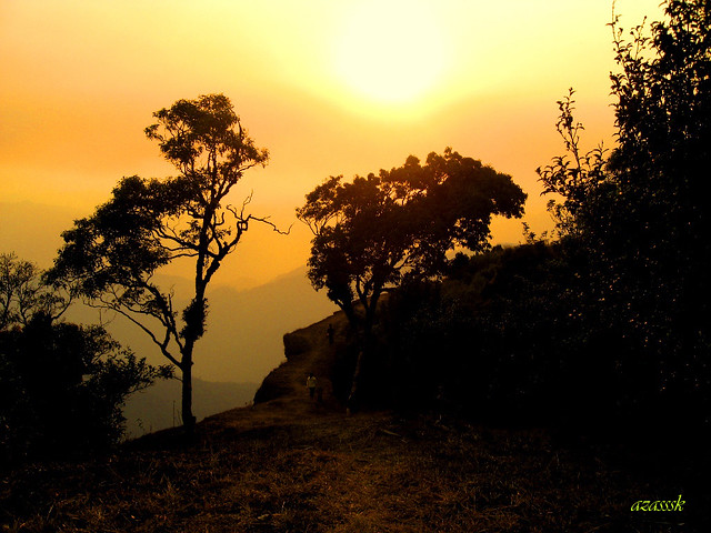 When the sun is setting in Mizoram...