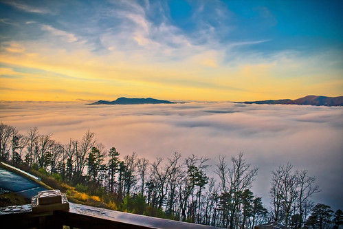 mountains fog northcarolina mountainhouse puertadelcielo
