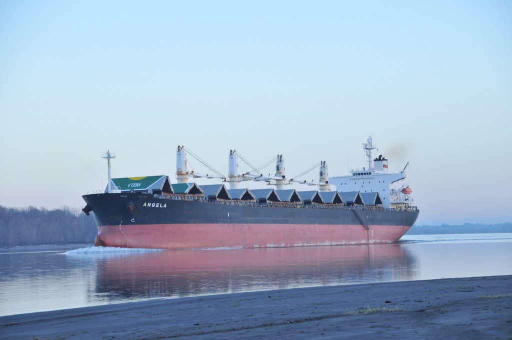 Angela Cargo Ship Columbia River | Name:ANGELA Ex-names: M V