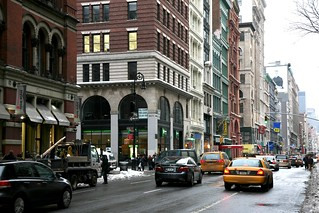 New York City, Manhattan, Noho, Broadway Ave. / Bond St. | by (vincent desjardins)