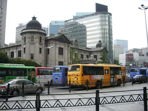Bank of Korea / Buses | by InSapphoWeTrust