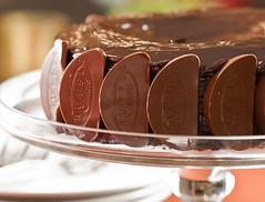 Flourless Chocolate Orange Cake with Chocolate Orange Ganache