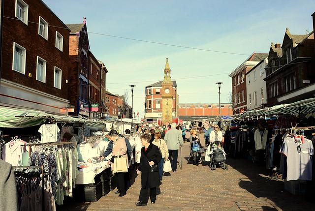 Ormskirk Market Lancashire