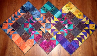 Project QUILTING - Flying Geese Challenge Entry - Three Geese | by PersimonDreams