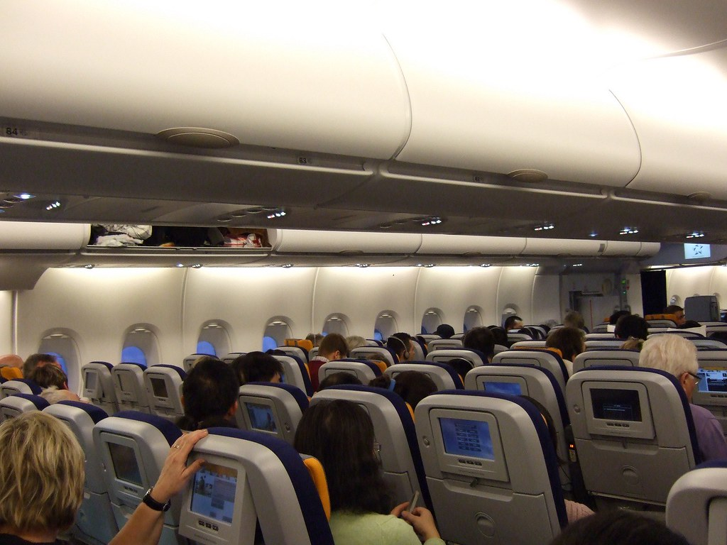 Lufthansa A380 Interior Chinaoffseason Com Economy Class I Flickr