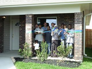 Kabira family and sponsor ConocoPhillips | Houston Habitat