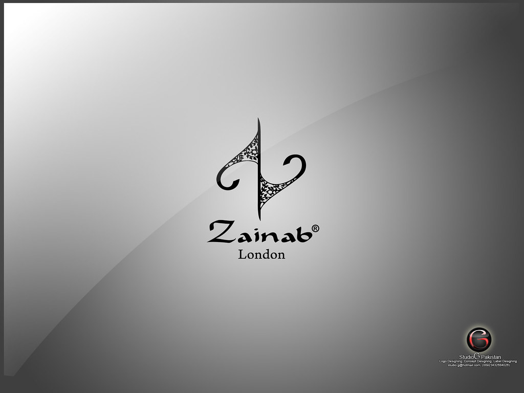 Zainab leathers logo designed by StudioG Pakistan freelanc… | Flickr
