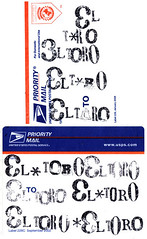 Letterpressed Stickers