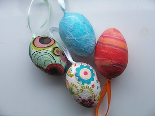 WIP Decopague Eggs | by hevs_illyria