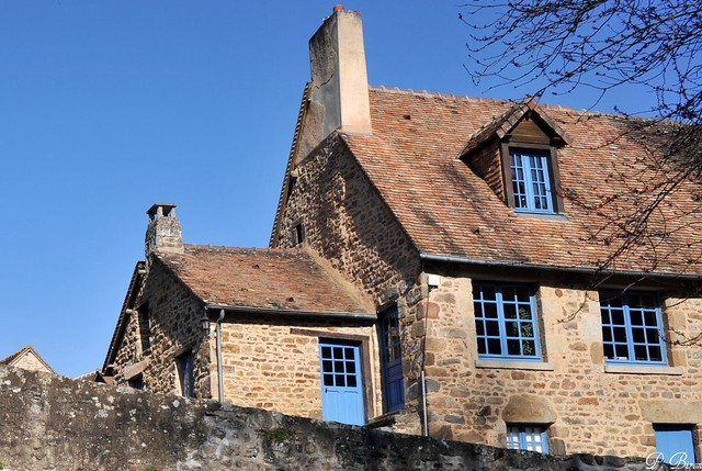 Maison bleue - Saint-Céneri-le-Gérei - Orne