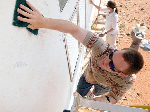 Rural schoolhouse renovation, Djibouti, March 2011 | by US Army Africa