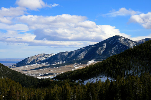 snow mountains forest canon rockies montana rocky redlodge beartooth